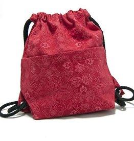 Rucksack NijensPeethoo Bag - Rot Muster 13