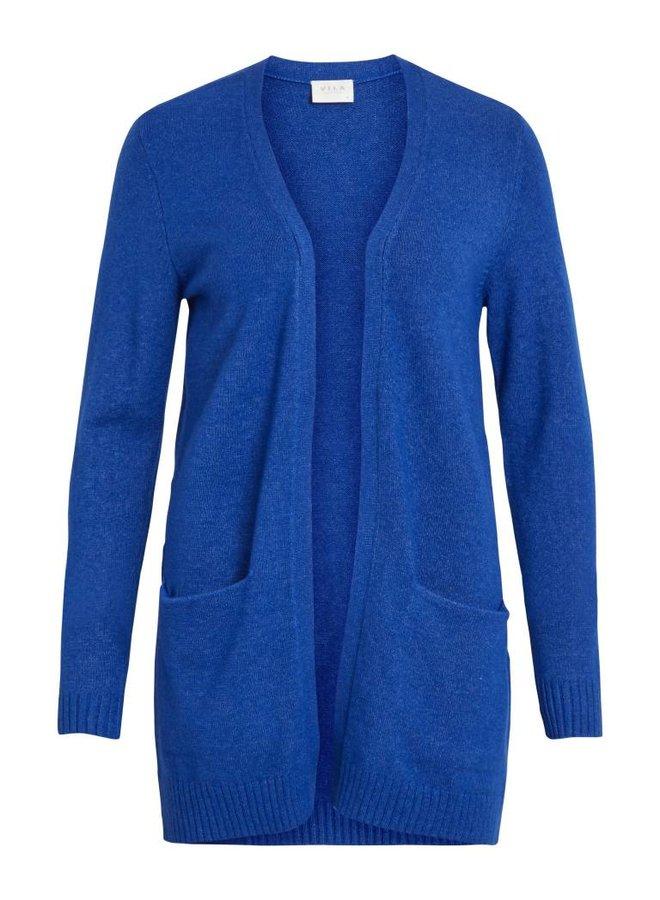Viril open knit cardigan