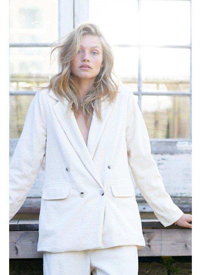 Lauren blazer White