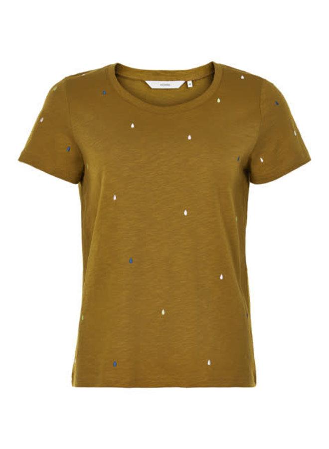 Nubrinkley T-shirt Camel