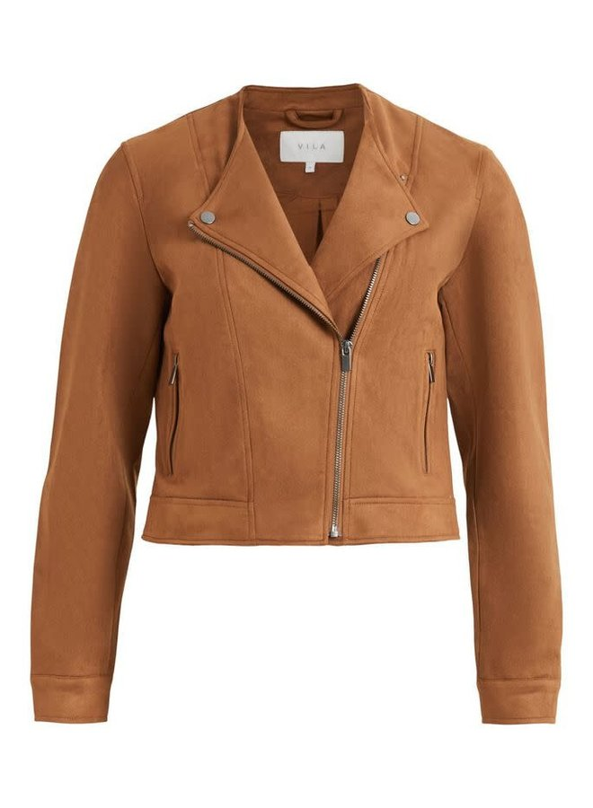 Vighita Short Jacket Oak Brown