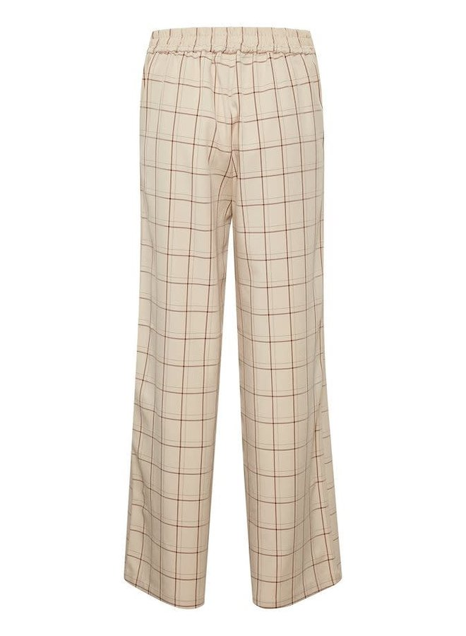 Bibbi pants ruit beige