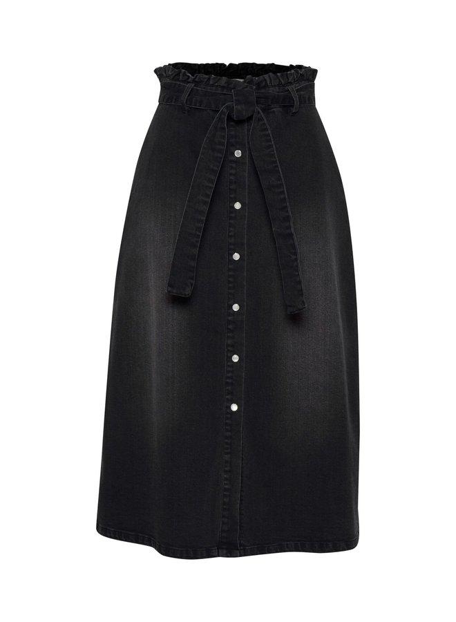 Iholina Skirt Washed Black