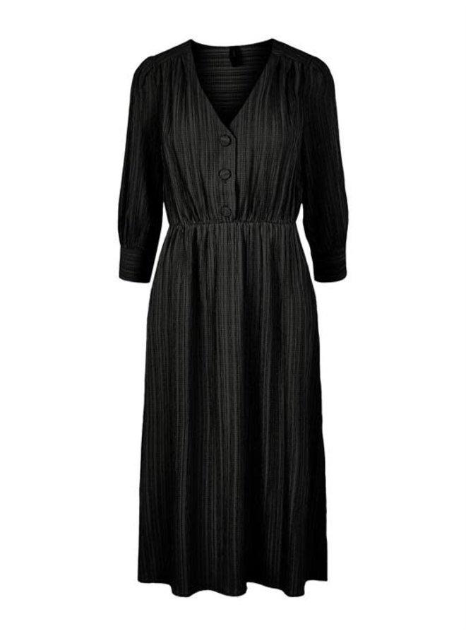 Yashonga Midi dress black
