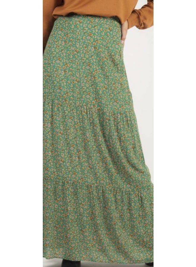 Dominique skirt Animal Green
