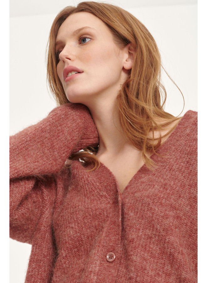 Etaya cardigan Cinnamon