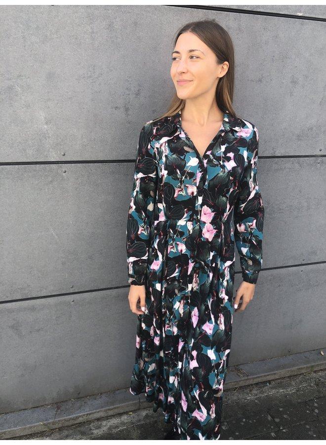 Denise Dress Turquoise