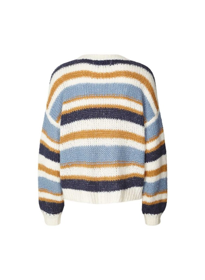 Terry Jumper Stripe Blue