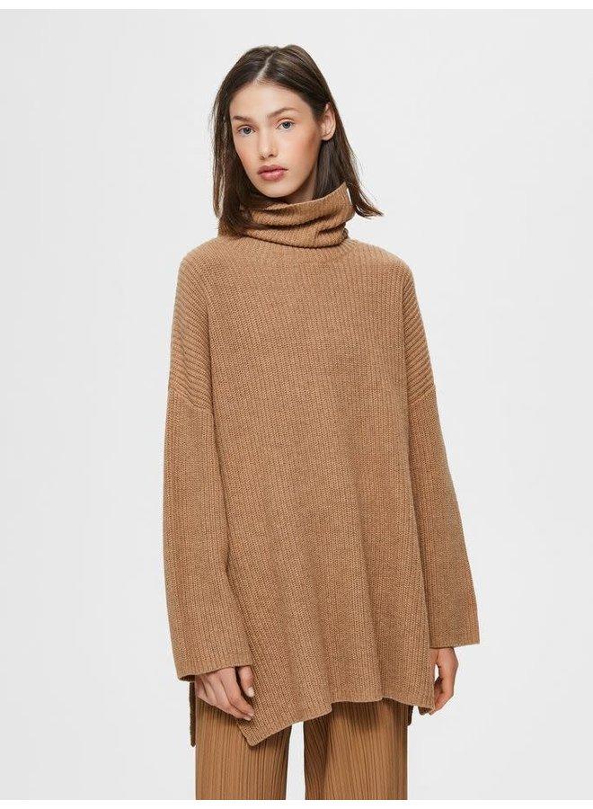 Slfkatty Long knit rollback