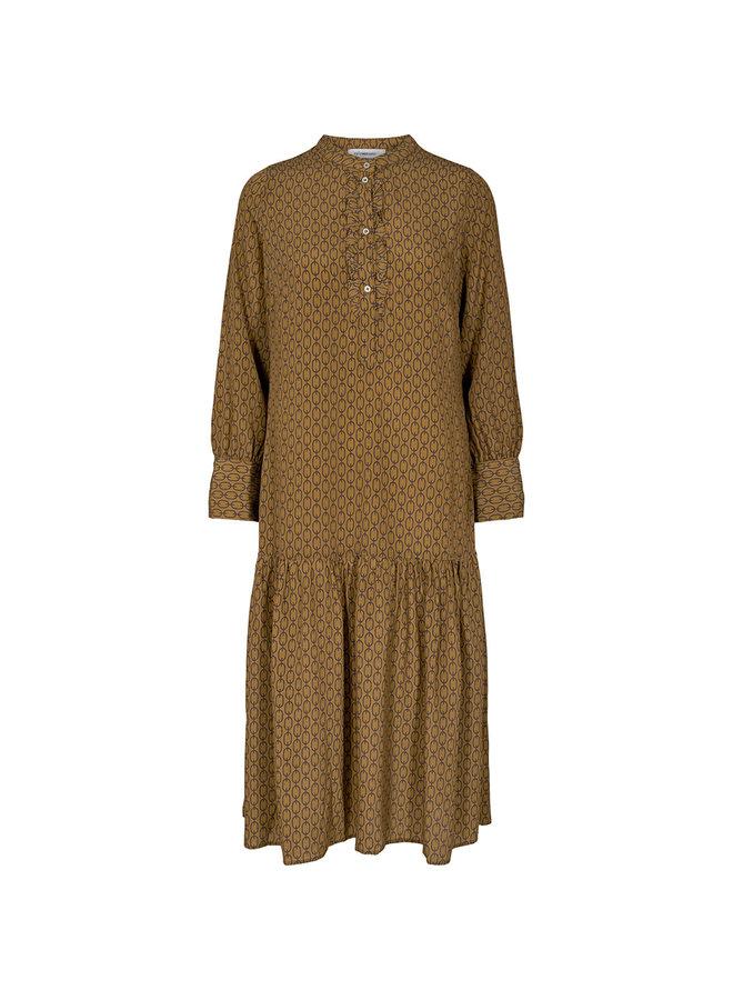 Chainey Dress Mustard