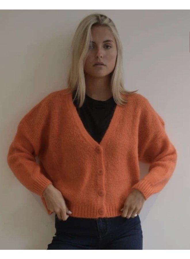 Xello Cardigan Orange
