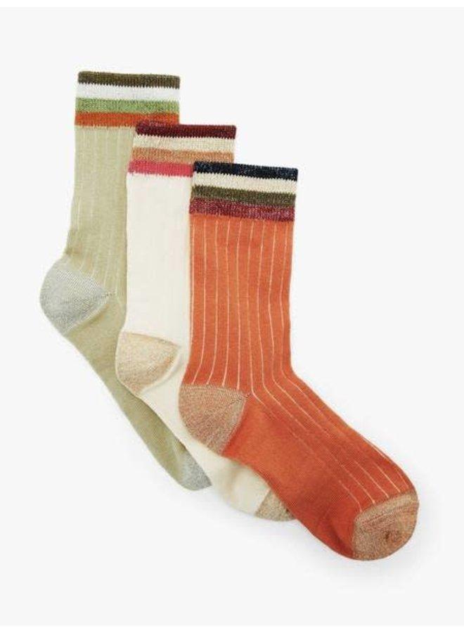 Ladomia glitter socks 3 pack