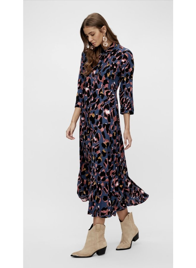 Yassavanna Animal Long Shirt Dress