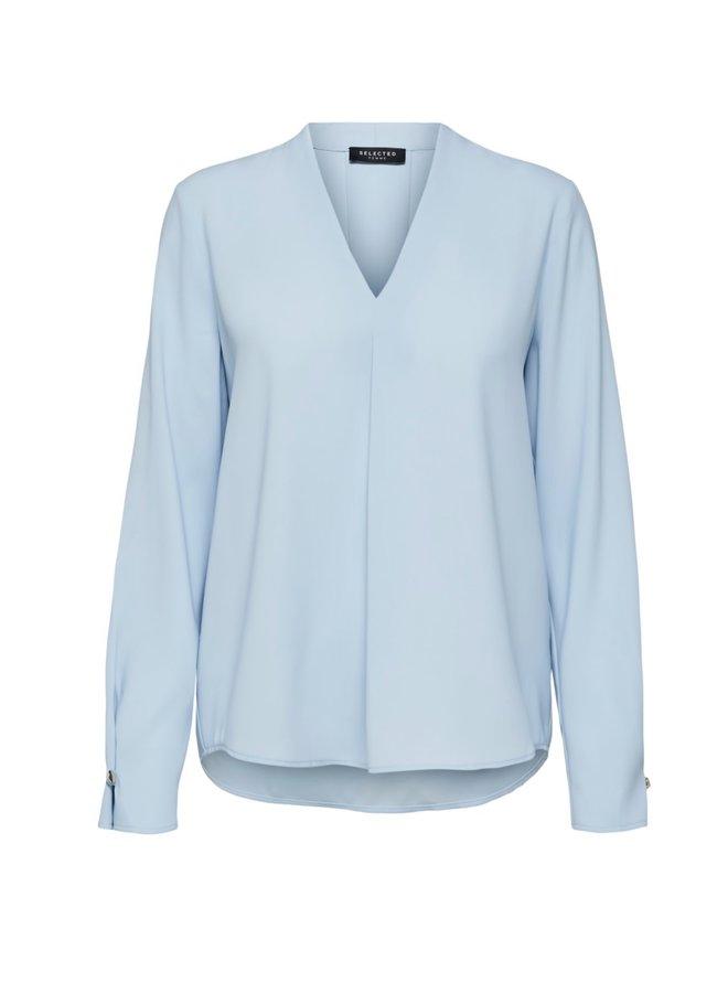 Slfluna Blouse Cashmere Blue