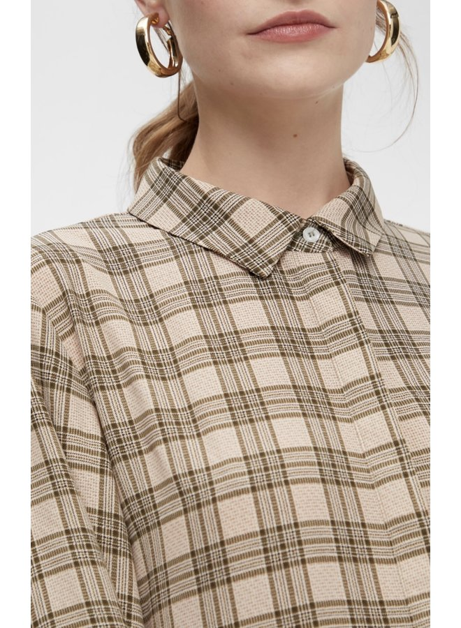 Yaskatie Shirt Dress Check
