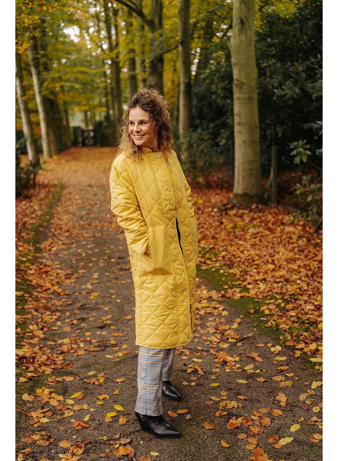 Lia Coat Yellow