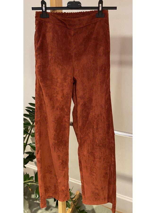 Charro Corduroy Pants Rust