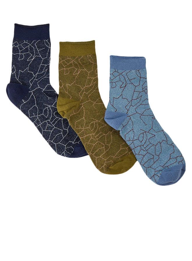 Nucoco Glitter Socks Box