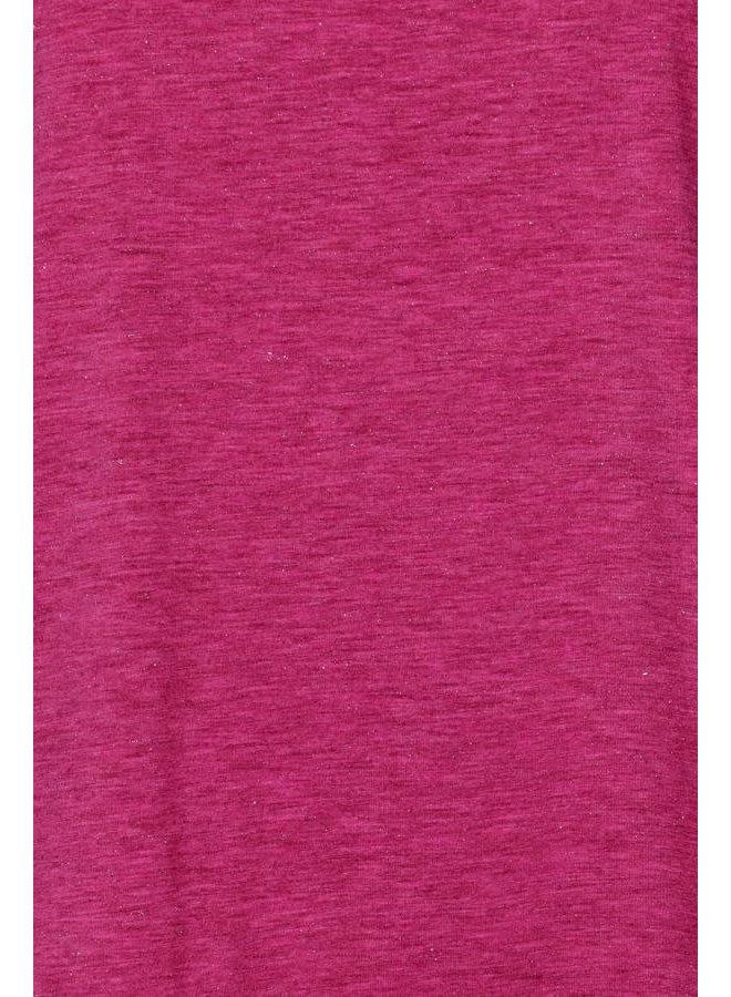 Ihrebel T-Shirt Fuchsia Red