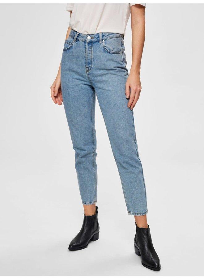 Slffrida HW Mom Jeans