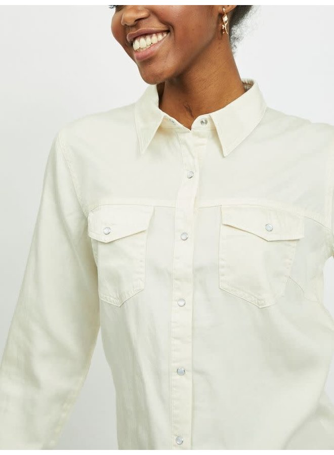 Vibista Denim Shirt Birch