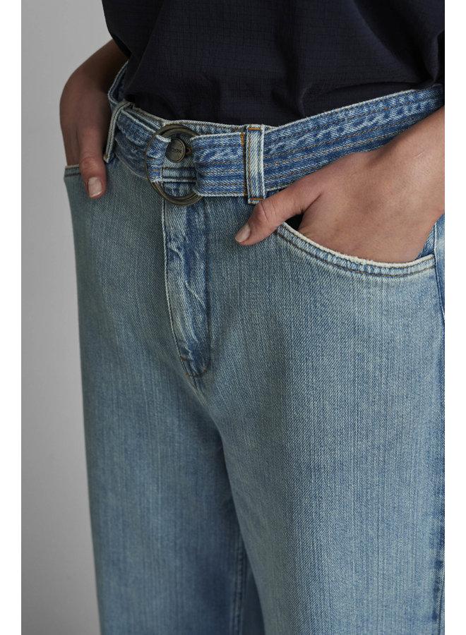 Nucarolina Pants Light Blue Denim