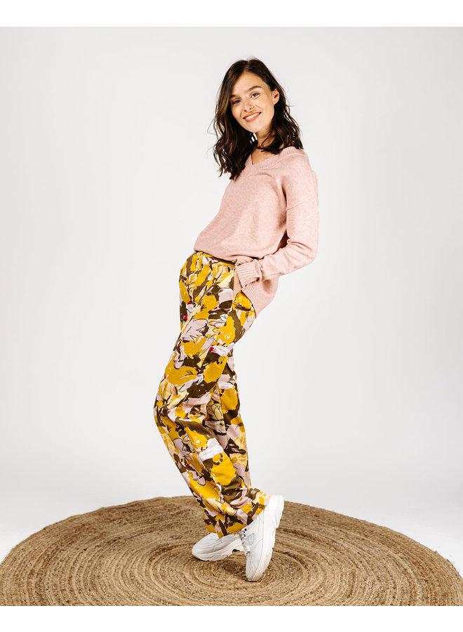 Viasra  Pants Flower Print