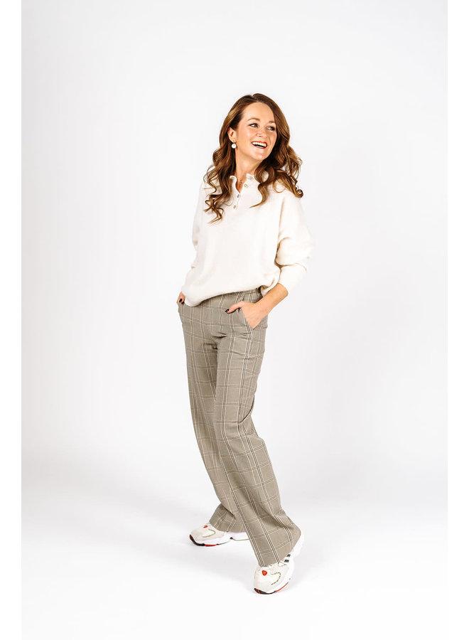 Felicia Trousers Check