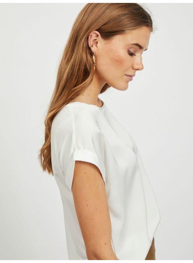 Viellette Top White