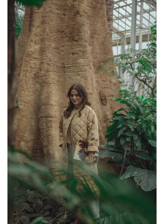 Lia Coat Tan