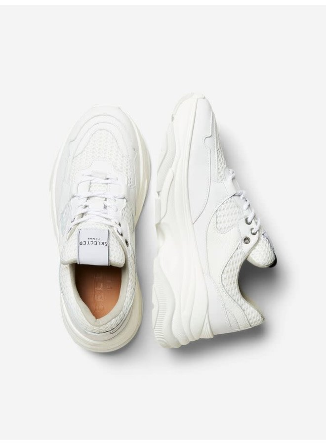 Slfgavina Sneaker White