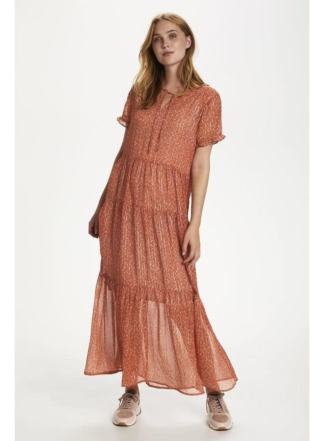 Xelina dress Red Orange
