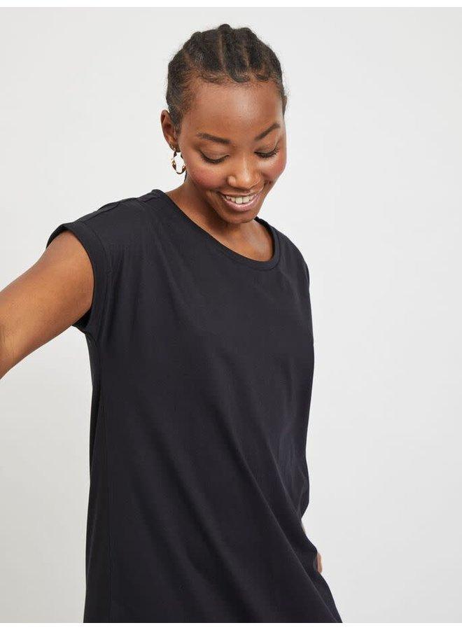Vidreamers Knee Dress Black