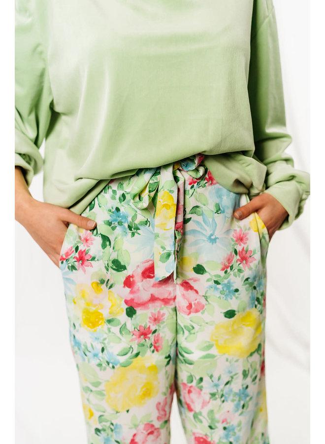 Viadalina Wide Pants Flower