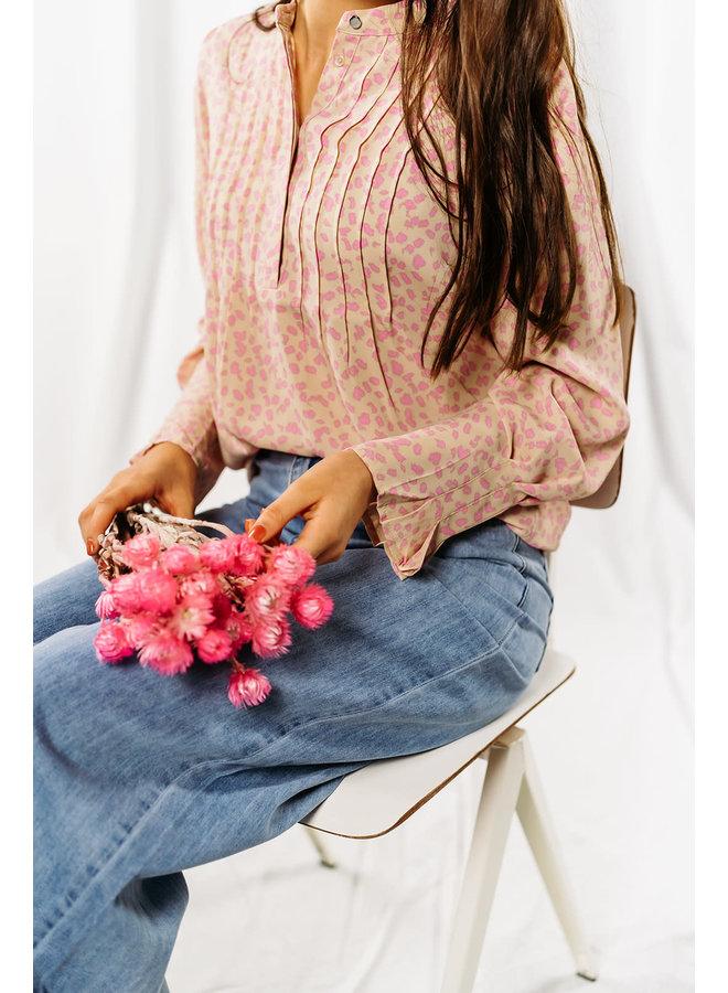 Slflivia Blouse Rose