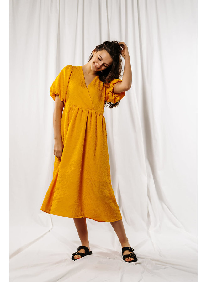 Slflissy Midi Wrap Dress
