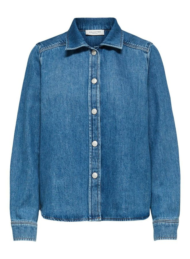 Slfmille Laurel Denim Shirt