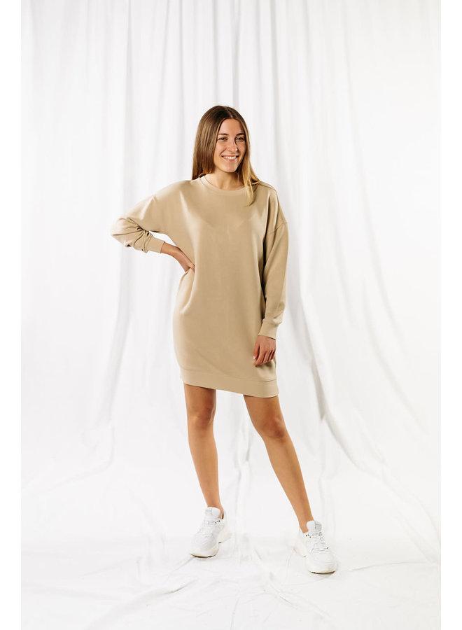Ima Sweat Dress Beige