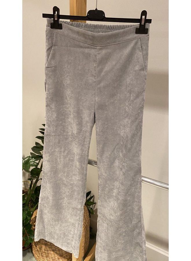 Charro Corduroy Pants Light Grey