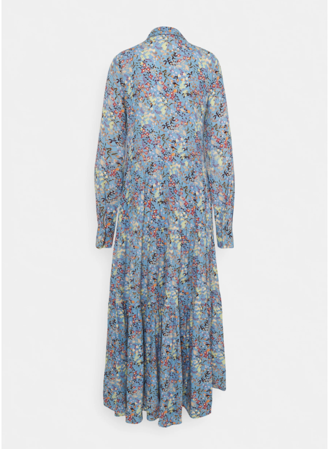 Yassantos Long Shirt Dress Blue