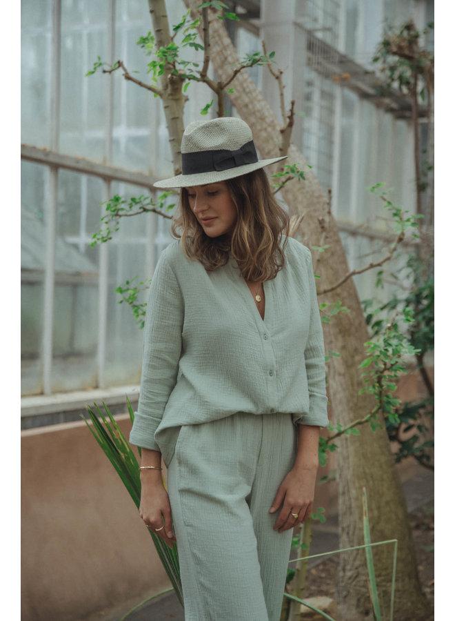 Alice Blouse Tetra Jade Green