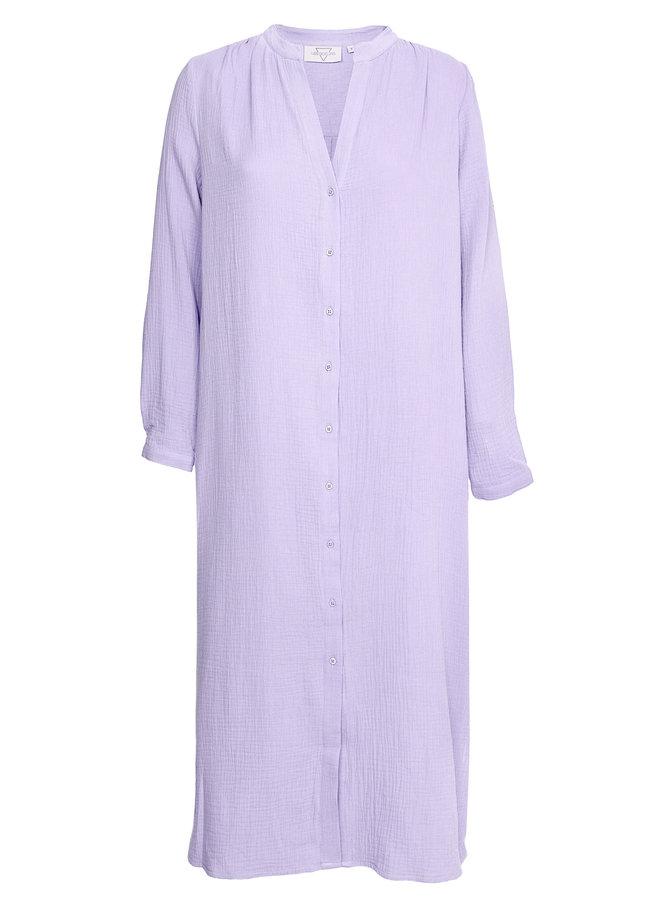 Boas Dress Lila