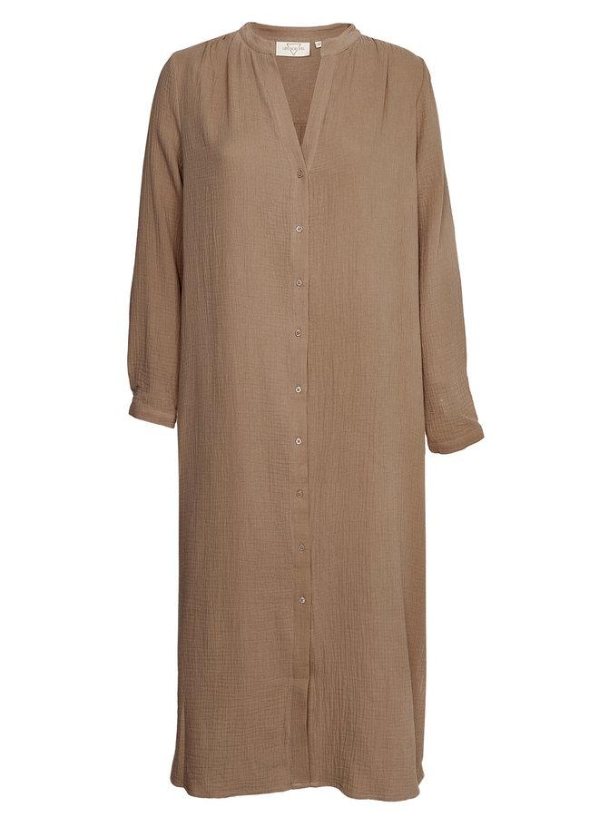 Boas Dress Mokka