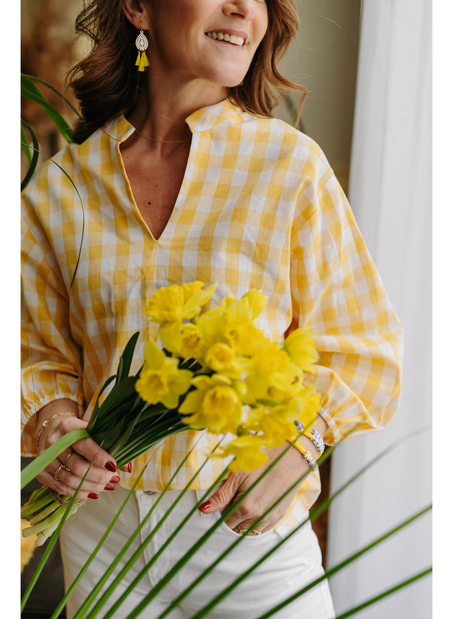 Marcia Blouse Yellow