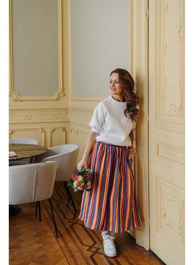 Julia Skirt Stripes