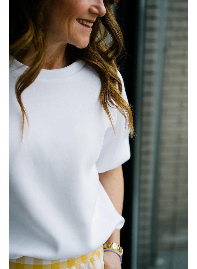 Mona Sweater White