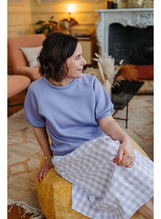Mona Sweater Soft Lila