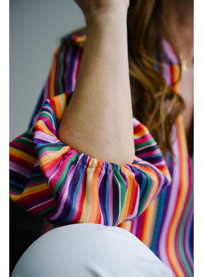 Marcia Blouse Stripes