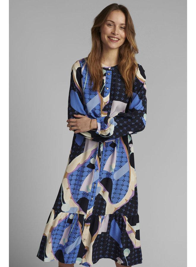 Nucasey Dress Dark Sapphire