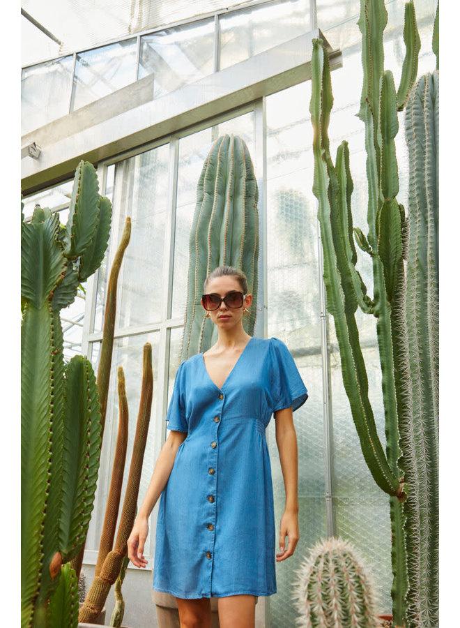 Ihlambrey Dress Medium Blue